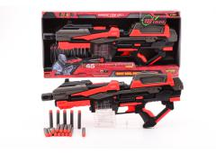 Serve and Protect Shooter Mega 54cm B/O met 10 pijlen