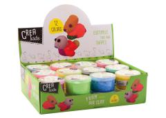 Crea Kids Crea putty in display 12 assorti