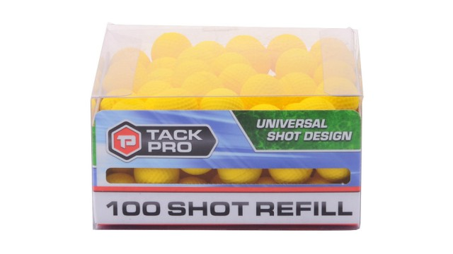 Tack Pro Power Shot refill 100 ballen