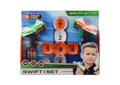 Tack Pro Swift I set met 12 darts 11cm en target ball