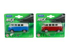 Welly VW classical T1 bus Die Cast 1:60 2 assorti
