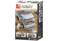 Sluban Army 9 into 1 Troepentransporter 3-In-1