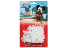 Glow in the dark Mickey 12 st. blister