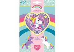 Totum Unicorn Stickerbook 4 Sheets 400 stickers
