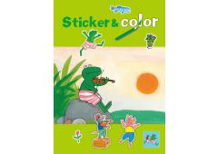 Kikker Super sticker en color boek
