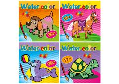 Water Color 4 assorti