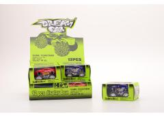 Dream auto 4 ass.kleur in display +/-9,5cm